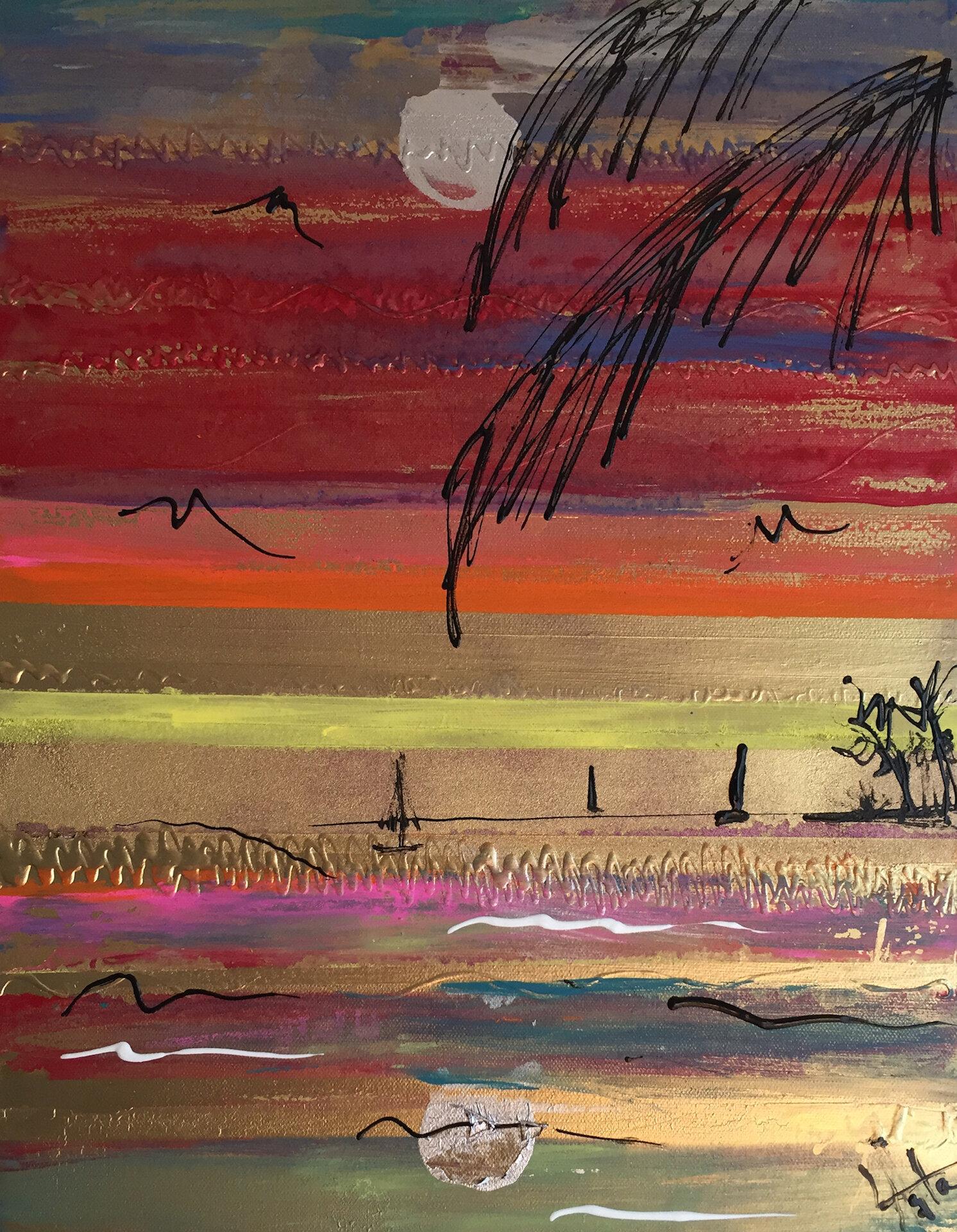 Asta Lee - Golden Sunset