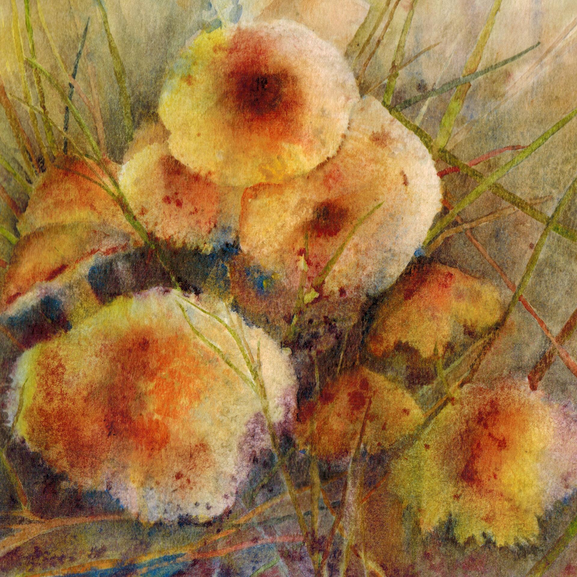 Pinson Jean Ann - Golden Mushrooms